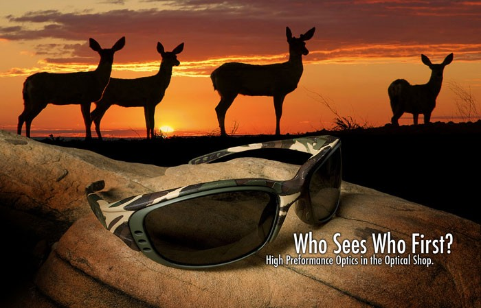 Who sees whom first? High performance optics in the optical shop.