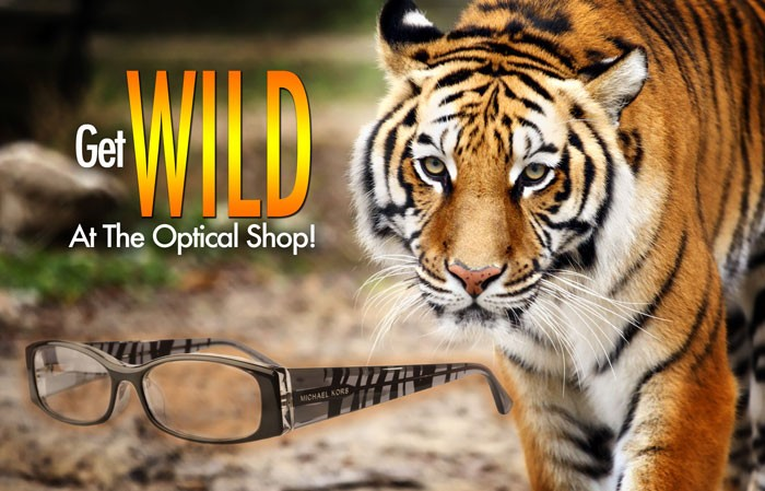 Get wild at the optical shop.